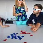 Viewpoint glasses in use with Mosaic Diversity Activity