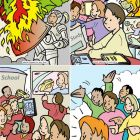 Images of Resilience in Education cartoon sample