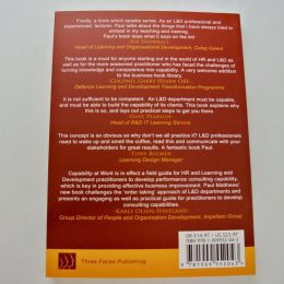 Capability at Work book back by Paul Mathews