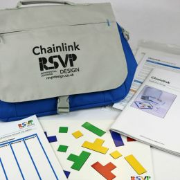 Chainlink Activity Materials from RSVP Design