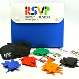 Colourblind communication exercise materials from RSVP Design