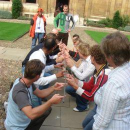 Helium Stick Teambuilding Activity from RSVP Design