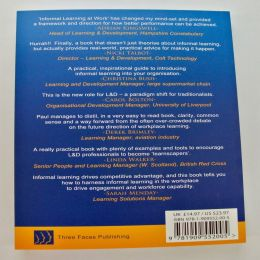 Informal Learning at Work book back by Paul Mathews