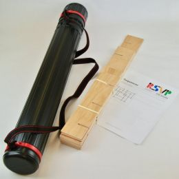 Mini Sequencer and carry tube materials from RSVP Design